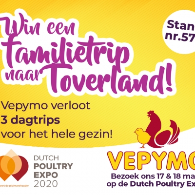 Vepymo op de Dutch Poultry Expo